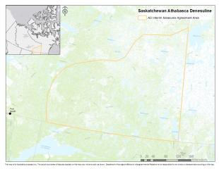 Athabasca Dënesuliné Interim Measures Agreement Area